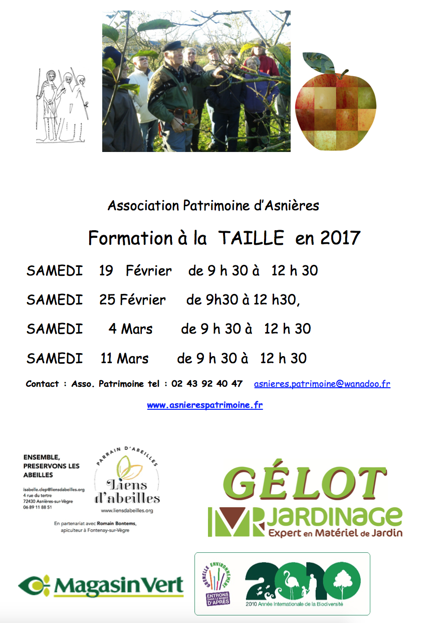 2017022 Verger - Formation taille